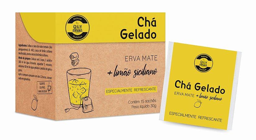 Chá Gelado Erva Mate + Limão Siciliano