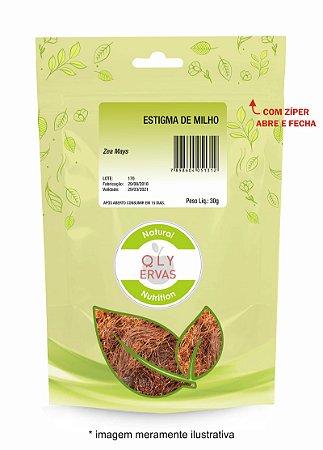 Pacote Estigma de Milho Qly Ervas 30g