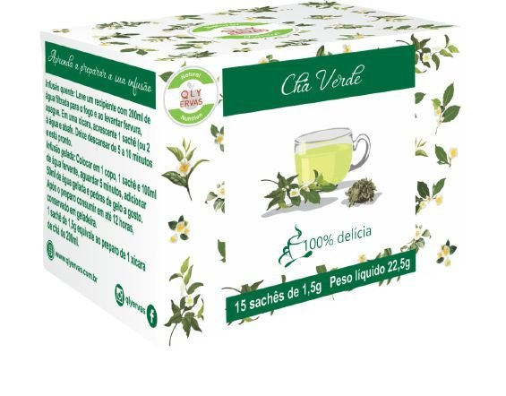 Pré Venda Chá Verde Qly Ervas