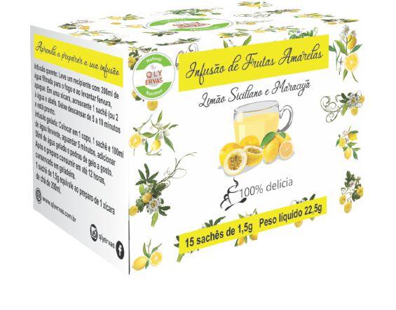 Pré Venda Infusão de Frutas Amarelas