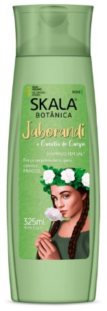 Shampoo Jaborandi e camélia do campo Skala 325mL (Vegano)
