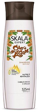 Shampoo Óleo de Argan Skalla 325ml (Vegano)
