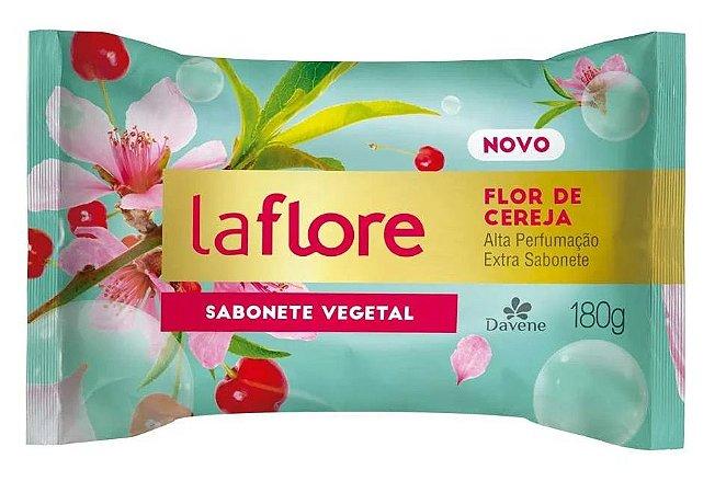 Sabonete em Barra Davene Flor de Cereja 180g (Vegano)