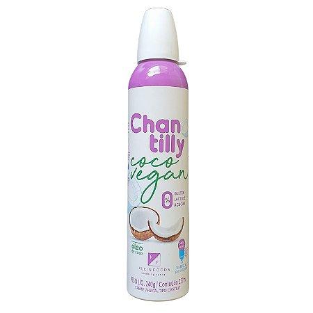 Chantilly de coco 240g (Vegano)