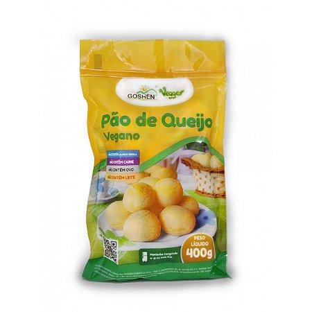 Pão de queijo vegano Goshen 400g (Congelado) Embalagem com 15 unidades