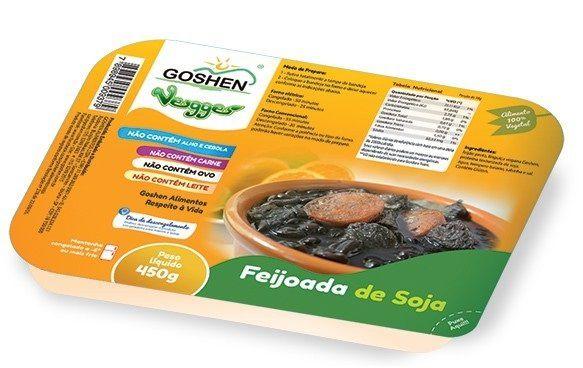 Feijoada de soja goshen 450g (Congelado)