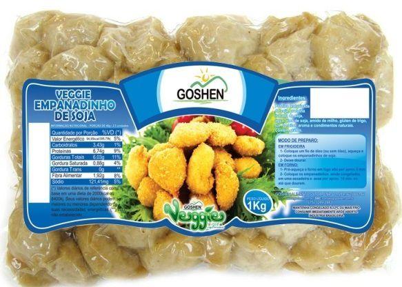 Empanadinho de soja goshen 1kg (Congelado)
