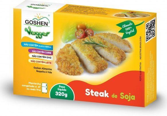 Steak de soja Goshen 320g (Congelado)