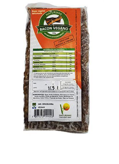 Bacon Vegano Naturinni 130g (Congelado)