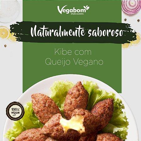 kibe com queijo vegano 400g (congelado) embalagem com 9 uniades