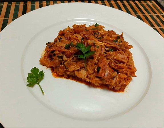 Carne de Jaca Artesanal cozida e temperada (congelado) 1kg