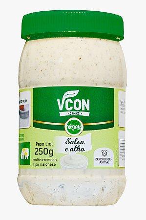 Maionese Vcon salsa e alho Vcon 250g