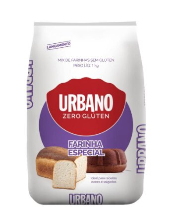 Farinha especial Sem glúten Urbano 1kg
