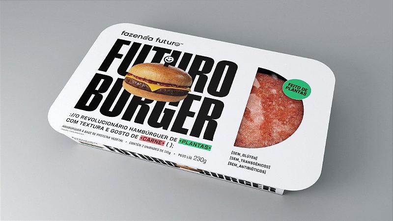 Hambúrguer do futuro 230g (Embalagem com 2 unidades)