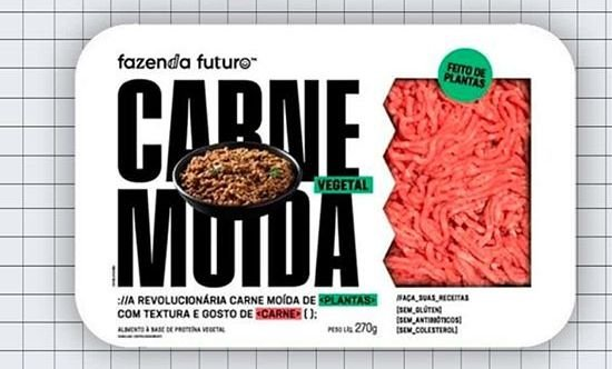 Carne Moída do futuro 270g (congelado)
