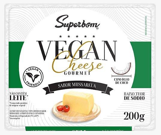 Queijo Vegano Gourmet Superbom sabor Mussarela 200g