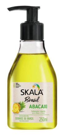 Sabonete Líquido Abacaxi Skala 250ml Vegano