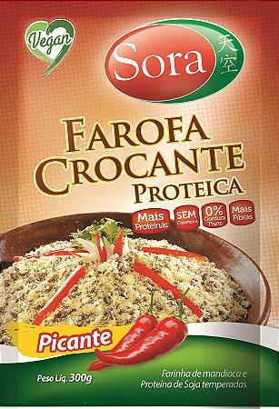 Farofa crocante proteica Picante Sora 300g