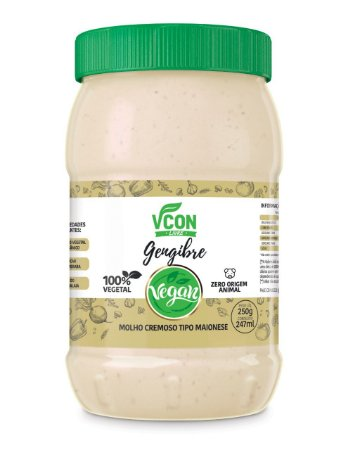 Maionese Vcon sabor Gengibre 250g