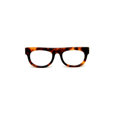 Armação para óculos de Grau Gustavo Eyewear G14 7. Cor: Animal print. Haste animal print.
