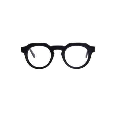 Armação para óculos de Grau Gustavo Eyewear G66 500. Cor: Preto. Haste preta.