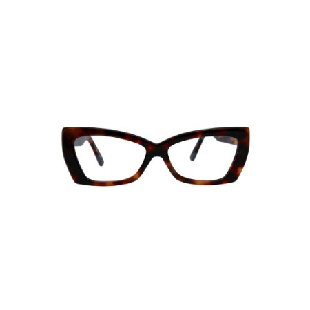 Armação para óculos de Grau Gustavo Eyewear G81 14. Cor: Animal Print. Haste animal print.