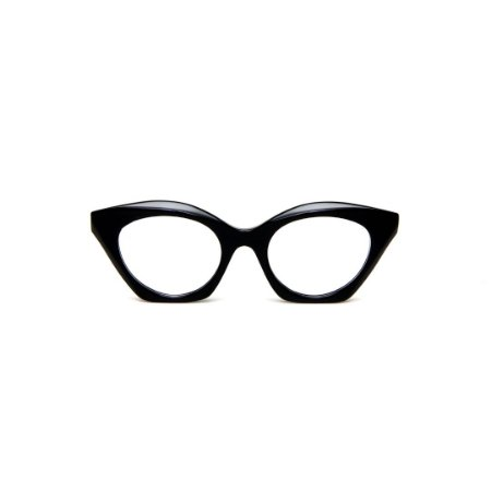 Armação para óculos de Grau Gustavo Eyewear G71 8. Cor: Preto. Haste preta.