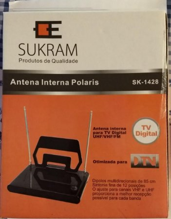 Antena Interna Polaris - Tv Digital