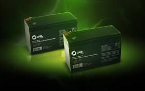 Bateria selada 12 volts 7 ampere giga ou unipower