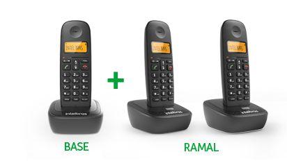 Telefone sem fio Intelbras TS2510 c/ viva voz