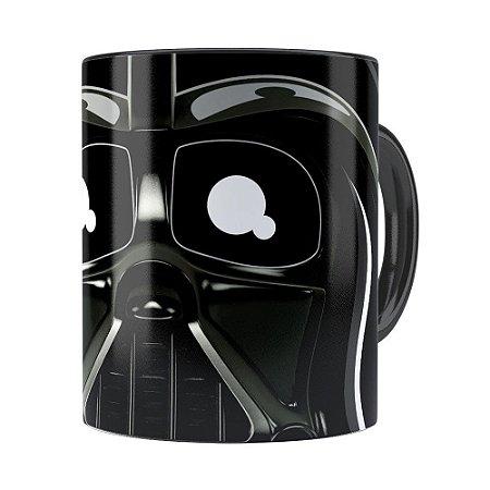 Caneca Star Wars Darth Vader v02 Cabeça Preta