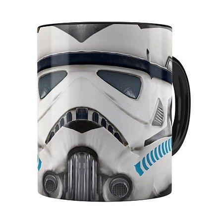 Caneca Star Wars Stroomper 3D Print Preta