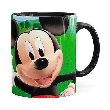 Caneca A Casa do Mickey Mouse Preta