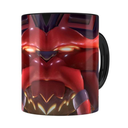 Caneca Ornn 3D Print League of Legends Preta