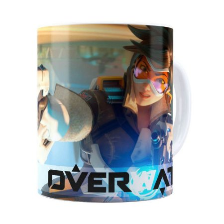 Caneca Overwatch Game 3D Print v04 Branca