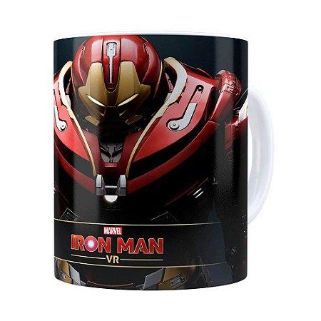 Caneca Hulkbuster 3D Print Homem de Ferro Branca