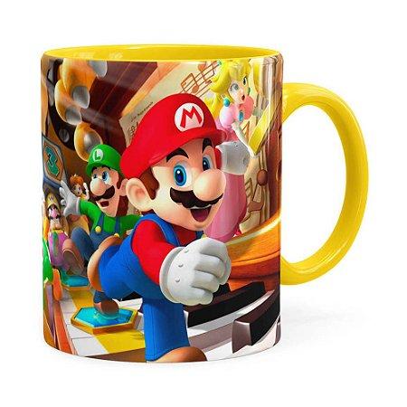 Caneca Super Mario Piano 3D Print Amarela