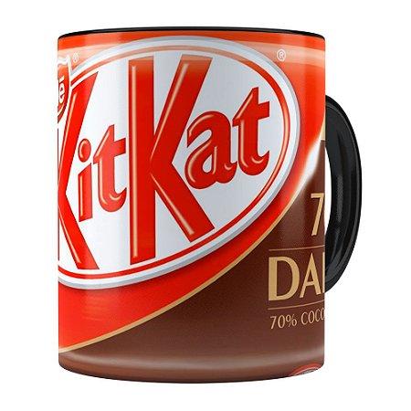 Caneca KitKat Dark Preta