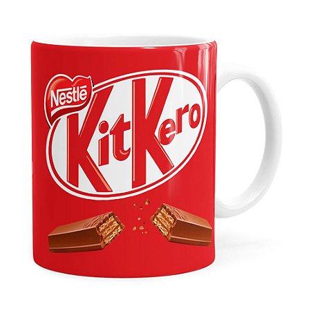 Caneca KitKero Branca