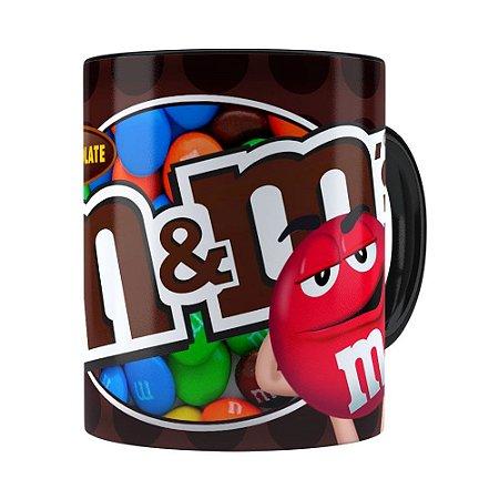 Caneca MM'S Milk Chocolate Preta
