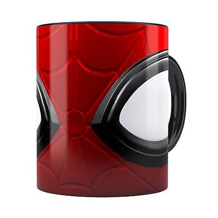 Caneca Spider Man 3D Print Preta
