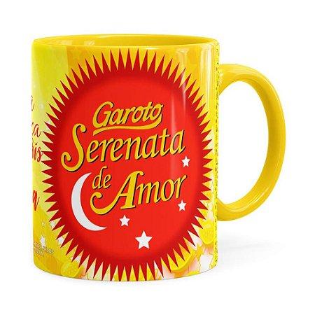 Caneca Serenata de Amor v03 Amarela