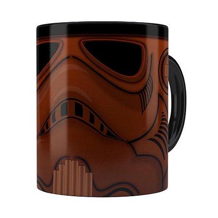 Caneca Star Wars Chocotrooper Preta