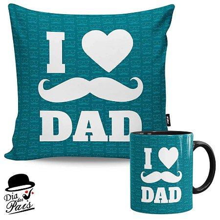 Kit Presente Pai I Love Dad v01