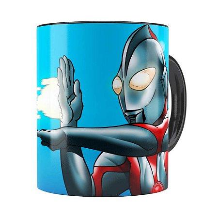 Caneca Ultraman v01 Preta