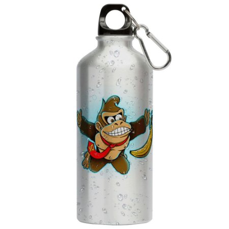 Squeeze Donkey Kong Banana 500ml Aluminio