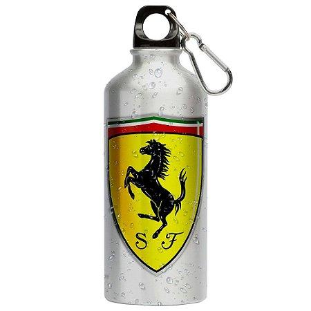 Squeeze Ferrari Emblema v01 500ml Aluminio