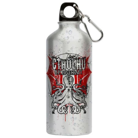 Squeeze Lovecraft Cthulhu 500ml Aluminio