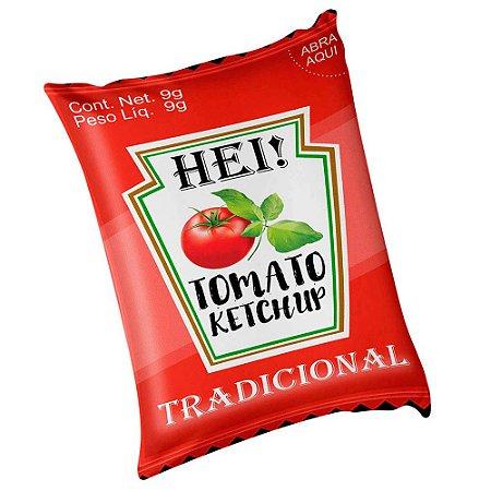 Almofada Sachê de Ketchup 20x30cm