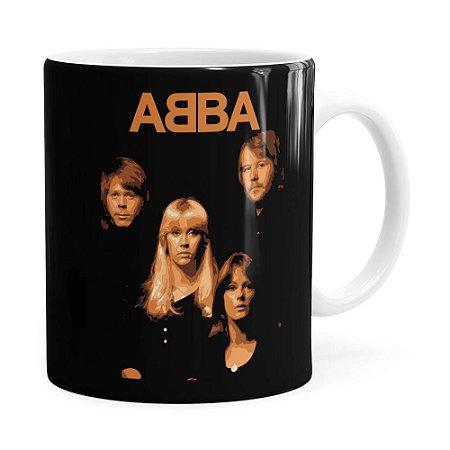 Caneca ABBA History Branca